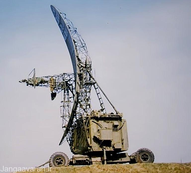 تصویری از یک سامانه پلنا-1 که می توانست در کار آواکس ها اخلال ایجاد کند