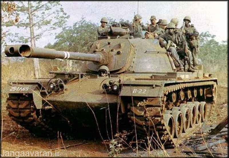 ام 48 ای 3... هیچ کدام از نسخه های تولید ام 48 دارای نارنجک انداز دود زا نداشت البته این مسئله در مورد تمامی تانک های ان دوران معمول بود