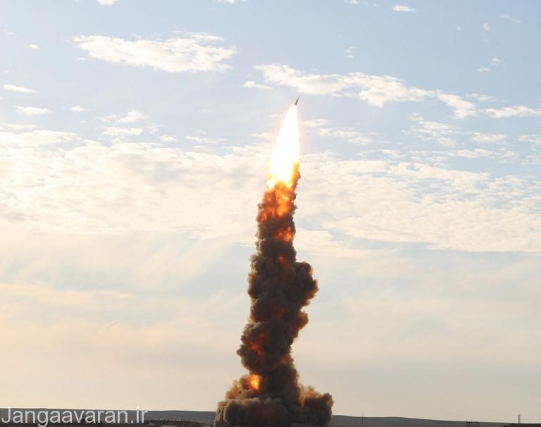 تصویری از شلیک یک موشک SH-08 Gazelle
