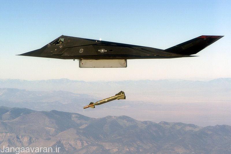 جنگنده تهاجمی استیلز اف117 نایت هاوک