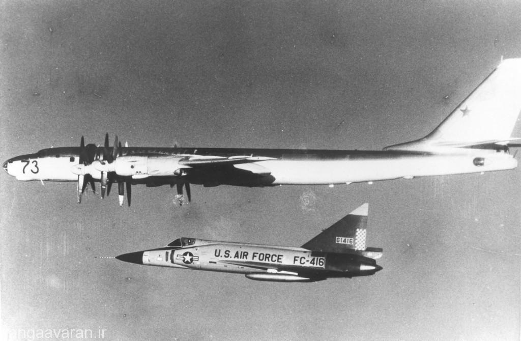 اسکورت توپلوف 95  توسط اف102 ای