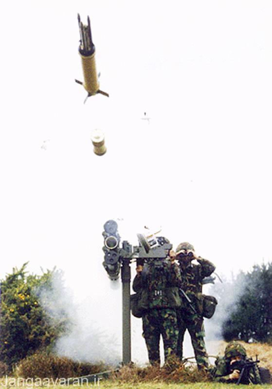 موشک پدافند هوایی Starstreak (استاراستریک)