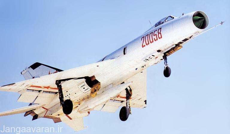 جنگنده J-8I دومین نسخه تولیدی