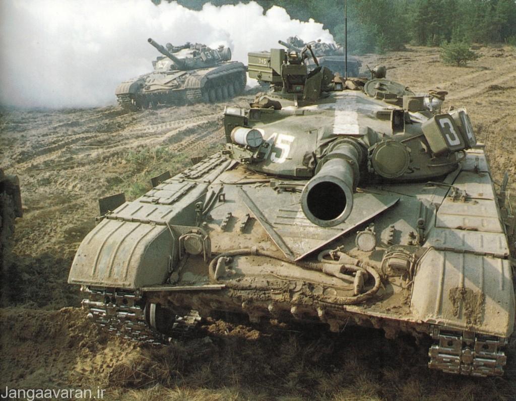 تی 64 ای ما نسخه فرمانده ای