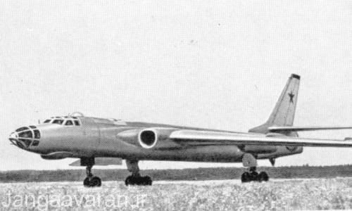 توپلوف 16 باجر ای نخستین نمونه باجر که دارای نقش بمب افکن بود