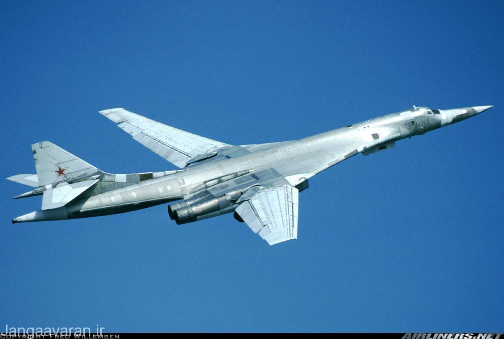 توپلوف 160 (شماره 29) سومین نمونه تولیدی و اولین نمونه عملیاتی که در روسیه بعد از فروپاشی شوروی باقی ماند