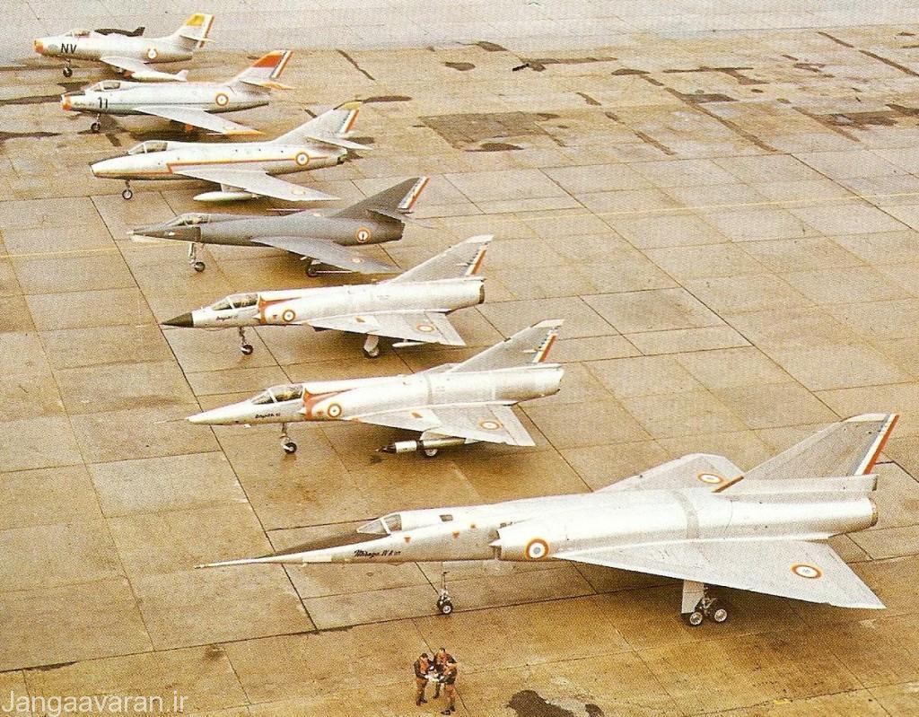 میراژ 4 بزرگترین هواپیمای جنگی طراحی شده کمپانی داسا است
