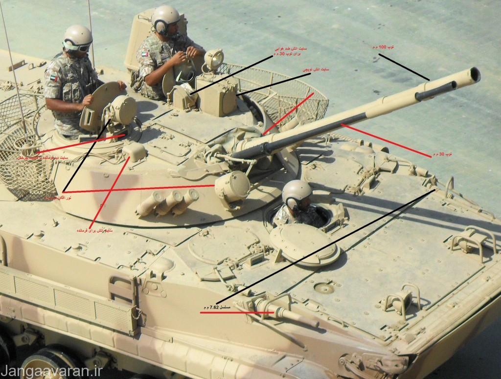 برای دیدن سامانه های اپتیکی و تسلیحاتی بی ام پی 3 عکس را لود کنید