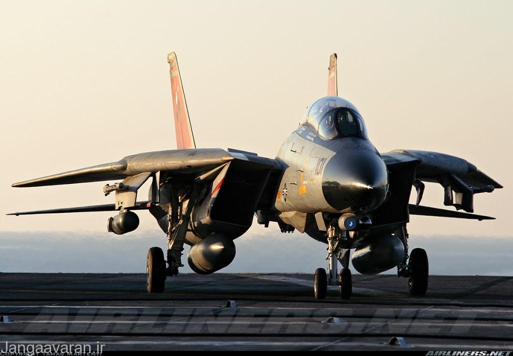 اف-14 دی ... در زیر دماغه سامانه اپیتیک در کنار سامانه تصویر بردار حرارتی دیده میشود