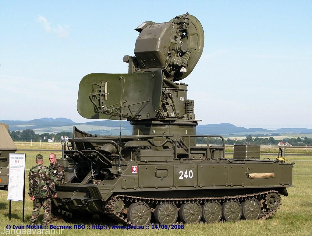 سامانه رادار 1S91 که شامل رادار هشدار دهنده و رادار درگیری است