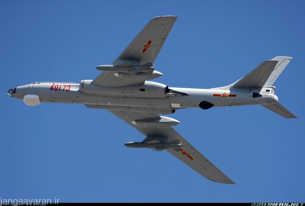 اچ 6 اچ مسلح به موشک کروز هوا به زمین کی دی 63 زیر بالها