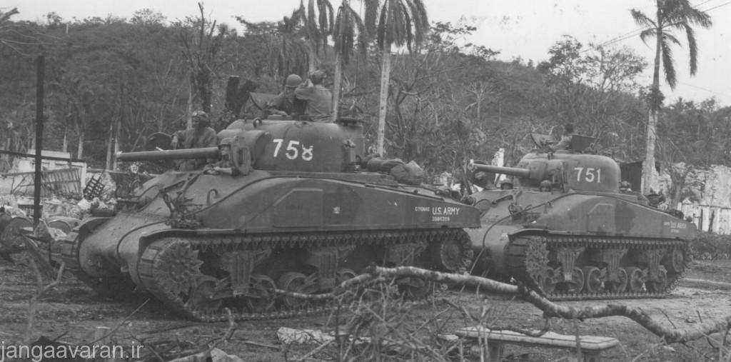 M4 Sherman ارتش آمریکا