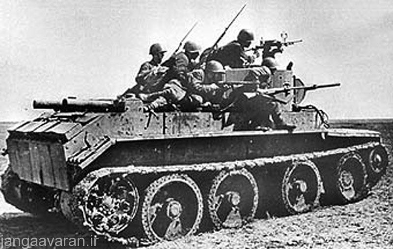 تانک سبک روسی BT-7