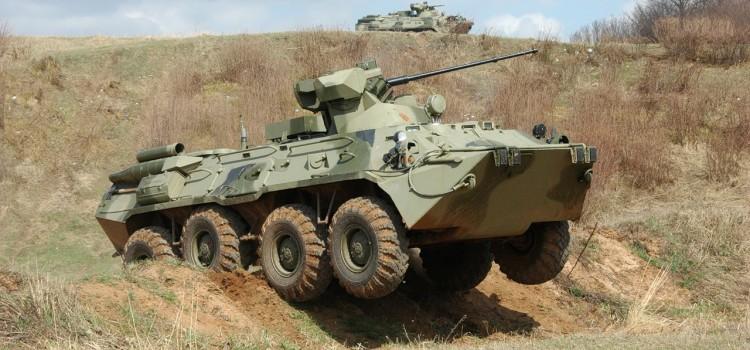 خودرو های زرهی مسلح ابی خاکی سری بی تی ار