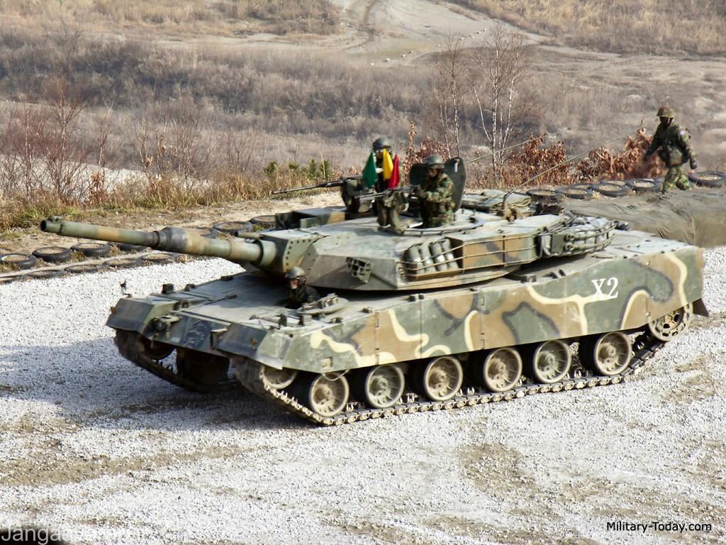 نسخه K1A1 مسلح به توپ 120 م م