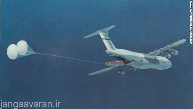پرتاب موشک بالستیک هوا پرتاب از سی5