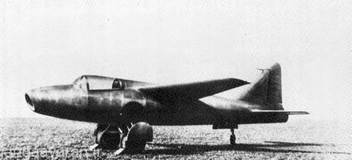 اچ ایی -178 اولین جت جهان که پرواز کرد