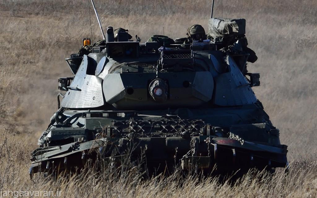 لئوپارد1 ای5 ارتش بلژیک. این نسخه تا سال 2011 در خدمت بود