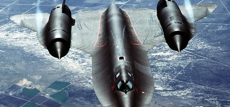هواپیمای شناسایی راهبردی اس ار 71 بلک برد