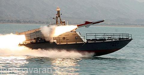 شلیک نصر از قایق ذوالفقار