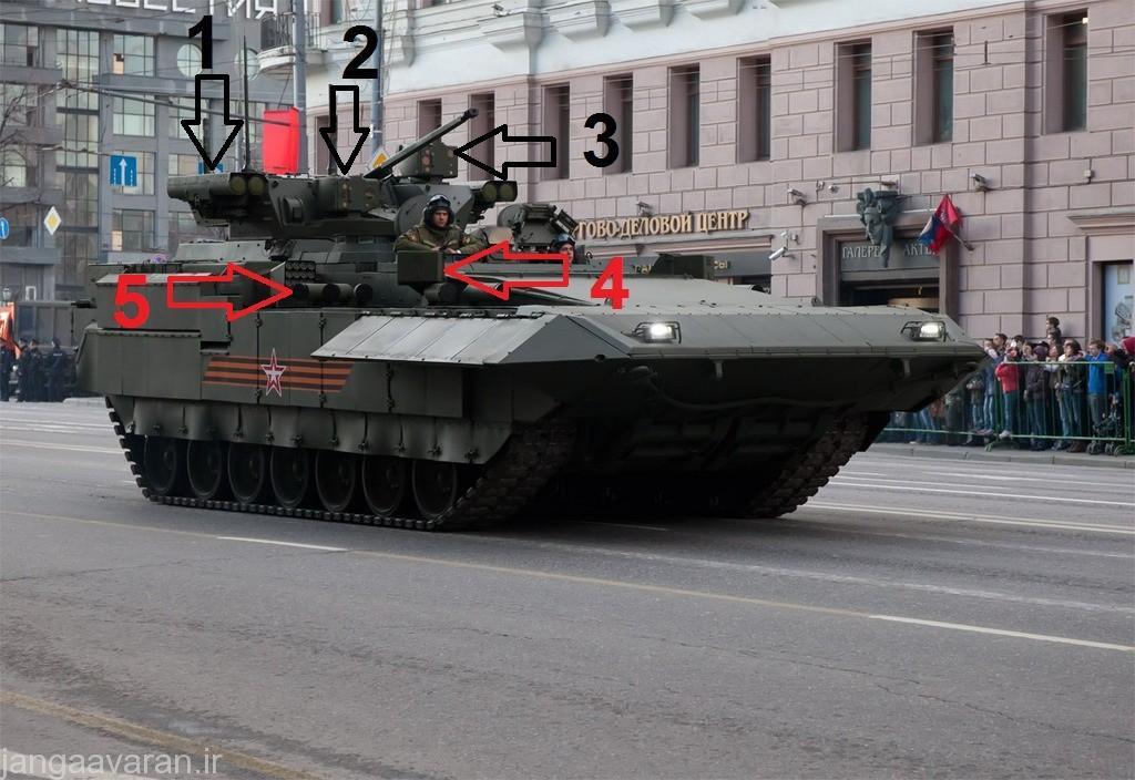 1-موشک کورنت(دو عدد