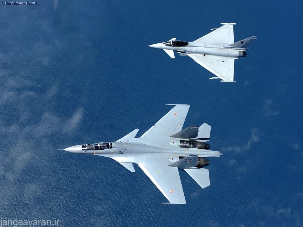 مقایسه بین سوخو30 و دیگر جنگنده های غربی مشابه