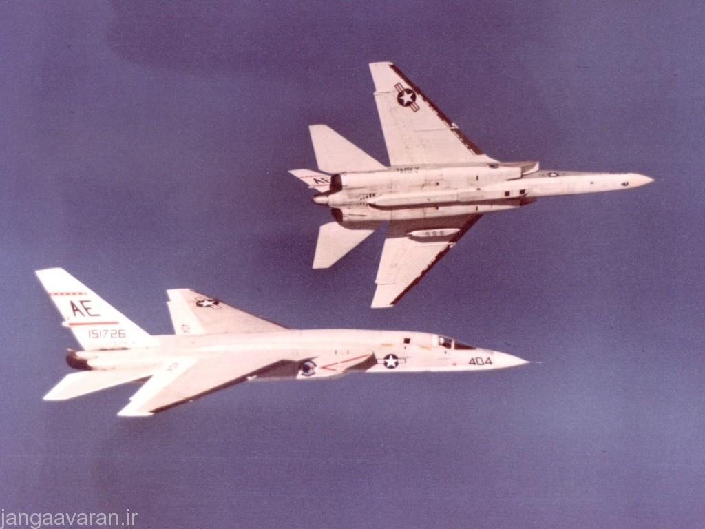 RA-5C_Vigilantes_of_RVAH-5_in_flight_over_Georgia_c1966