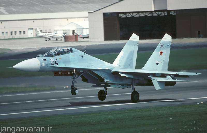 سوخو27 پی یو جنگنده ای که بعدها تبدیل به سوخوی30 شد