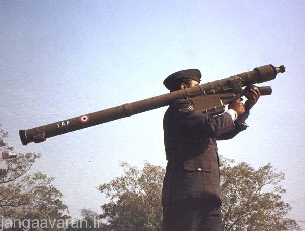 موشک پدافند هوایی شانه پرتاب  ایگلا