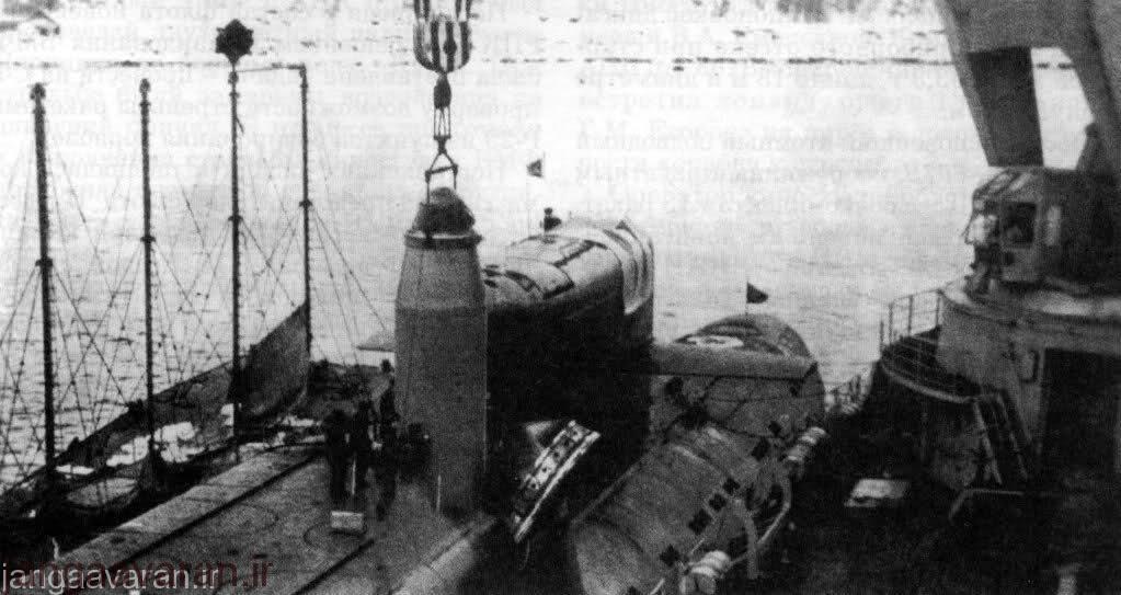 قرار دادن موشک ار29 در سیلوی دلتا2