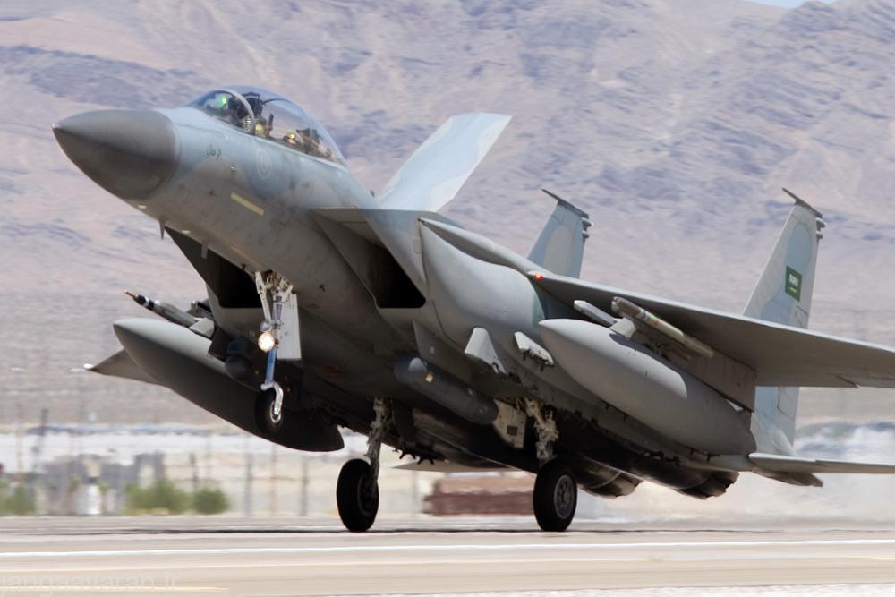 اف15 اس نیروی هوایی عربستان