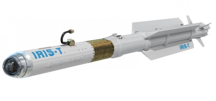 موشک هوا به هوای IRIS-T