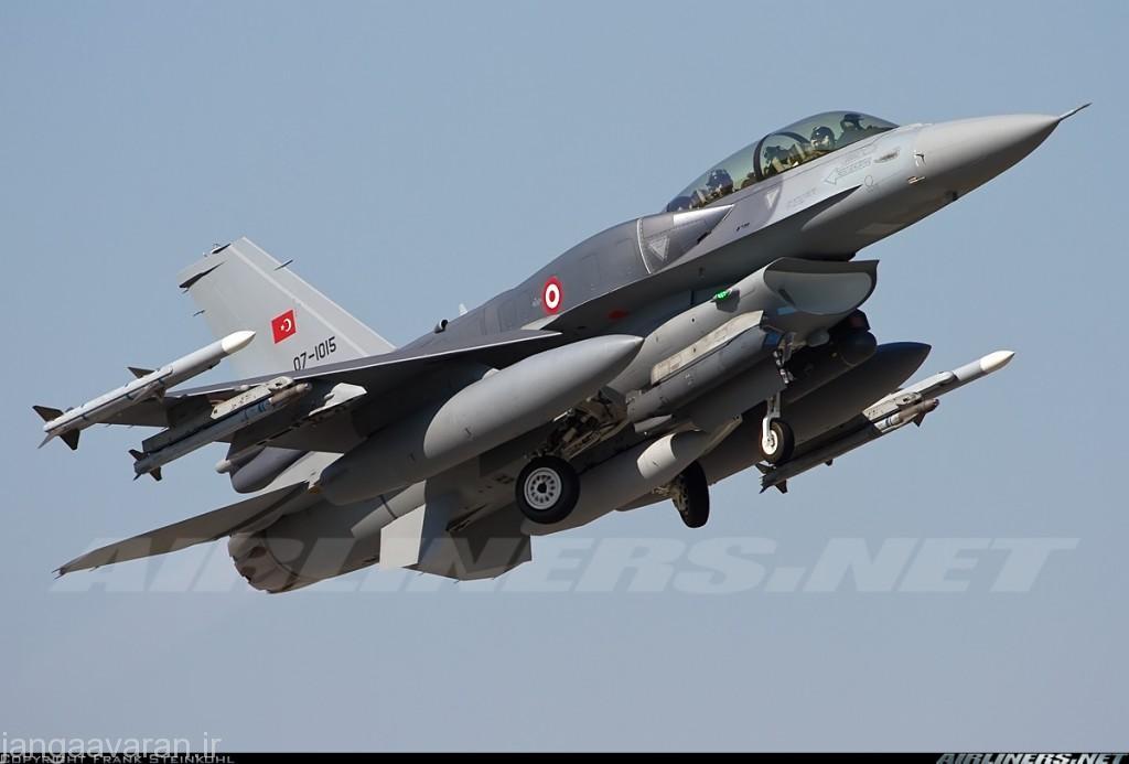 تجهیزات نیروی هوایی ترکیه