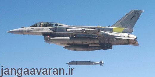 پرتاب ای جی ام 154 از اف16