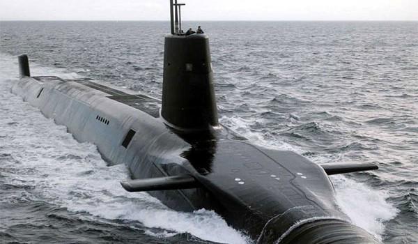 زیر دریایی  اتمی کلاس ونگارد