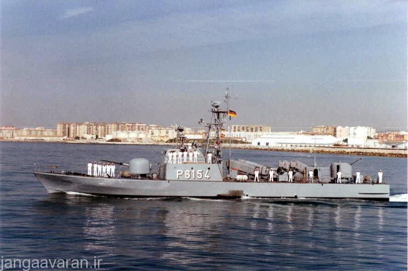 قایق موشک انداز کلاس La Combattante IIa در المان با نام کلاس تایگر شناخته می شود. در تصویر کلاس تایگر مسلح به موشک اگزوست دیده می شود