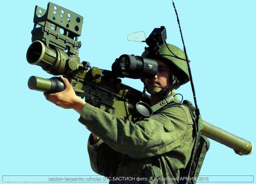 موشک دفاع هوایی دوش پرتاب وربا