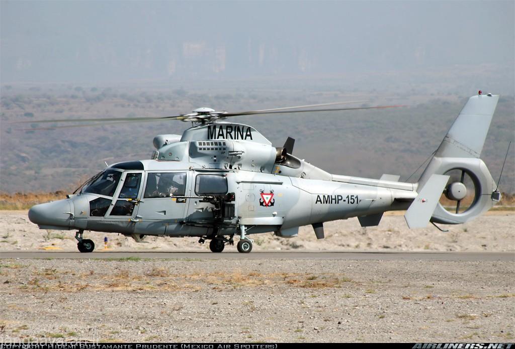 نسخه در خدمت ارتش مکزیک مسلح به مسلسل