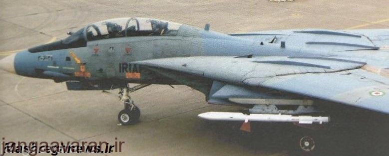 تامکت مسلح به موشک ار27. این تنها عکس از یک تامکت با موشک ار27 است