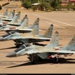 میگ29 نیروی هوایی مسلح به  ار 27 و ار 73