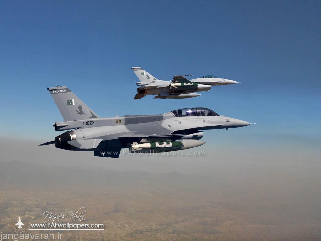 اف16 و بمب هدایت ماهواره ای جی دم