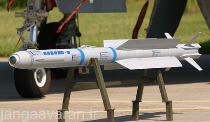موشک هدایت تصویر ساز حرارتی IRIS-T نسل جدید موشک های حرارتی