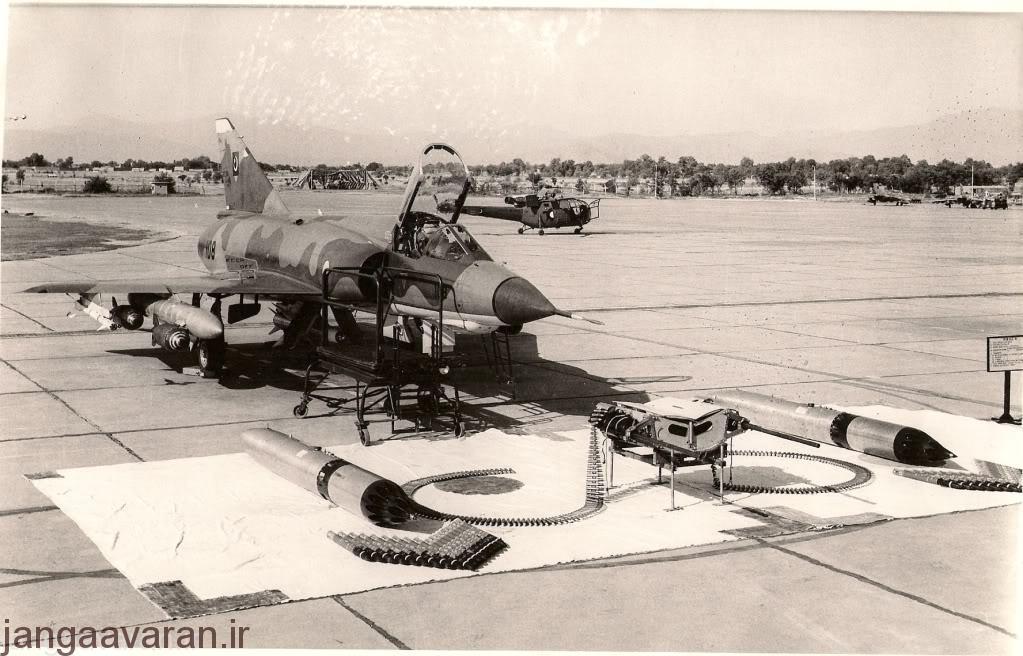 تصویری از میراژ 3 ارتش پاکستان در دهه 1980