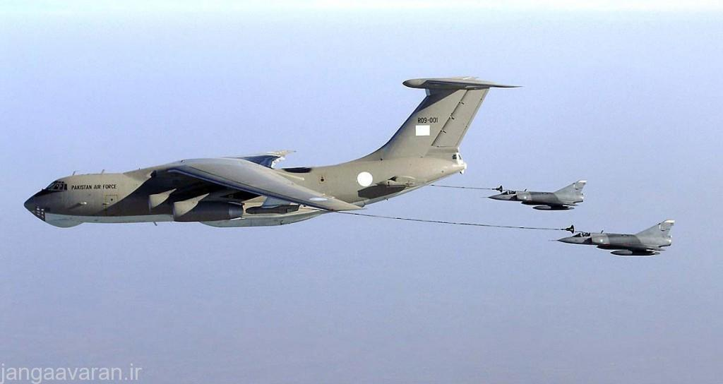 سوخت رسان مادیوس و جنگنده های میراژ