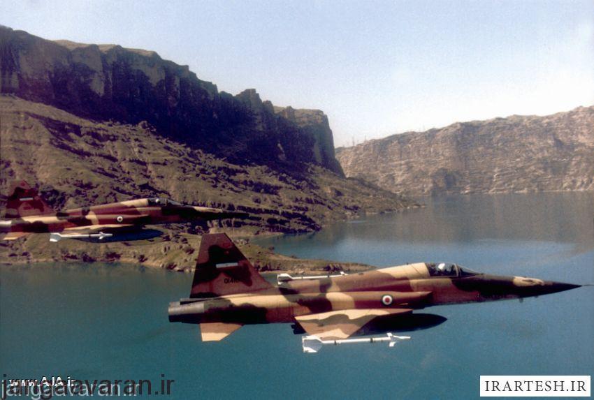 اف5 نیروی هوایی ایران و موشک AIM-9J