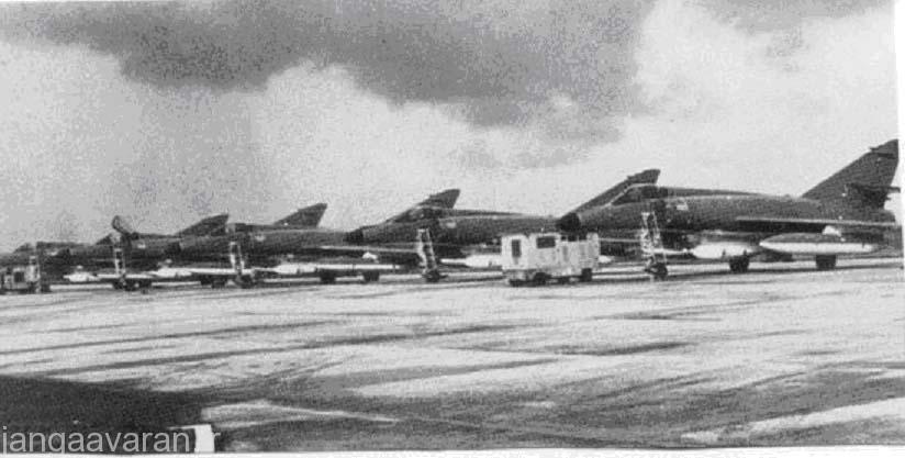 5 سوپر اتندارد نیروی هوایی عراق در پایگاه هوایی القریه بعد از عملیات شکر