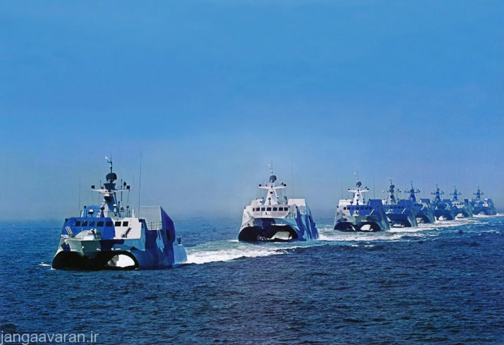 قایق موشک انداز کلاس تایپ 022