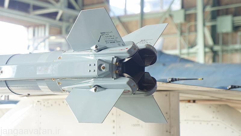 خروجی متغییر موشک AAM-5