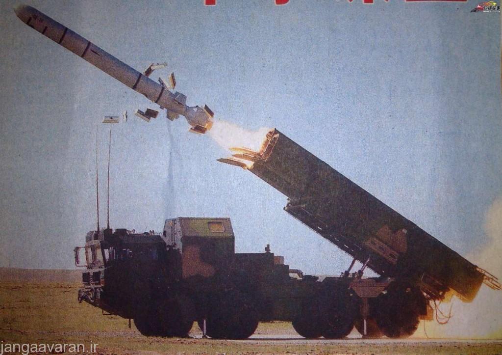 موشک دی اچ-10 نسخه زمین پرتاب موشک سی جی 10