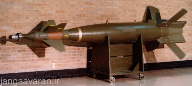 بمب های لیزری سری پیووی